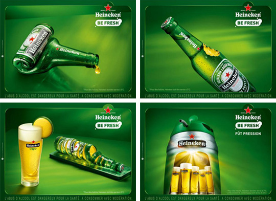 heineken be fresh