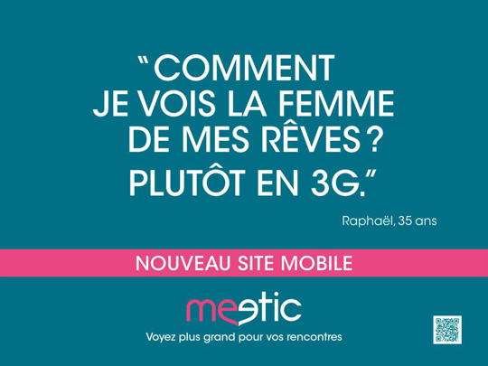 Meetic la rencontre