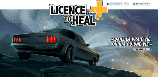 Licence To Heal Visuel Principal