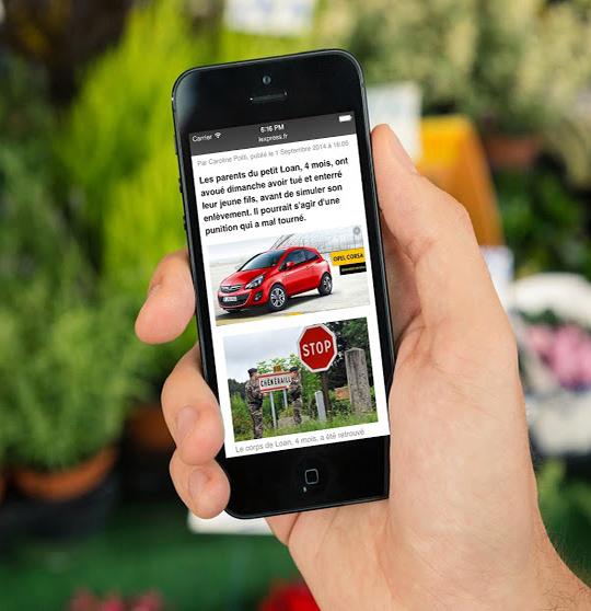 Un nouveau format dans publicité mobile, quelle idée !