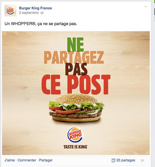 Burgerkingpartage