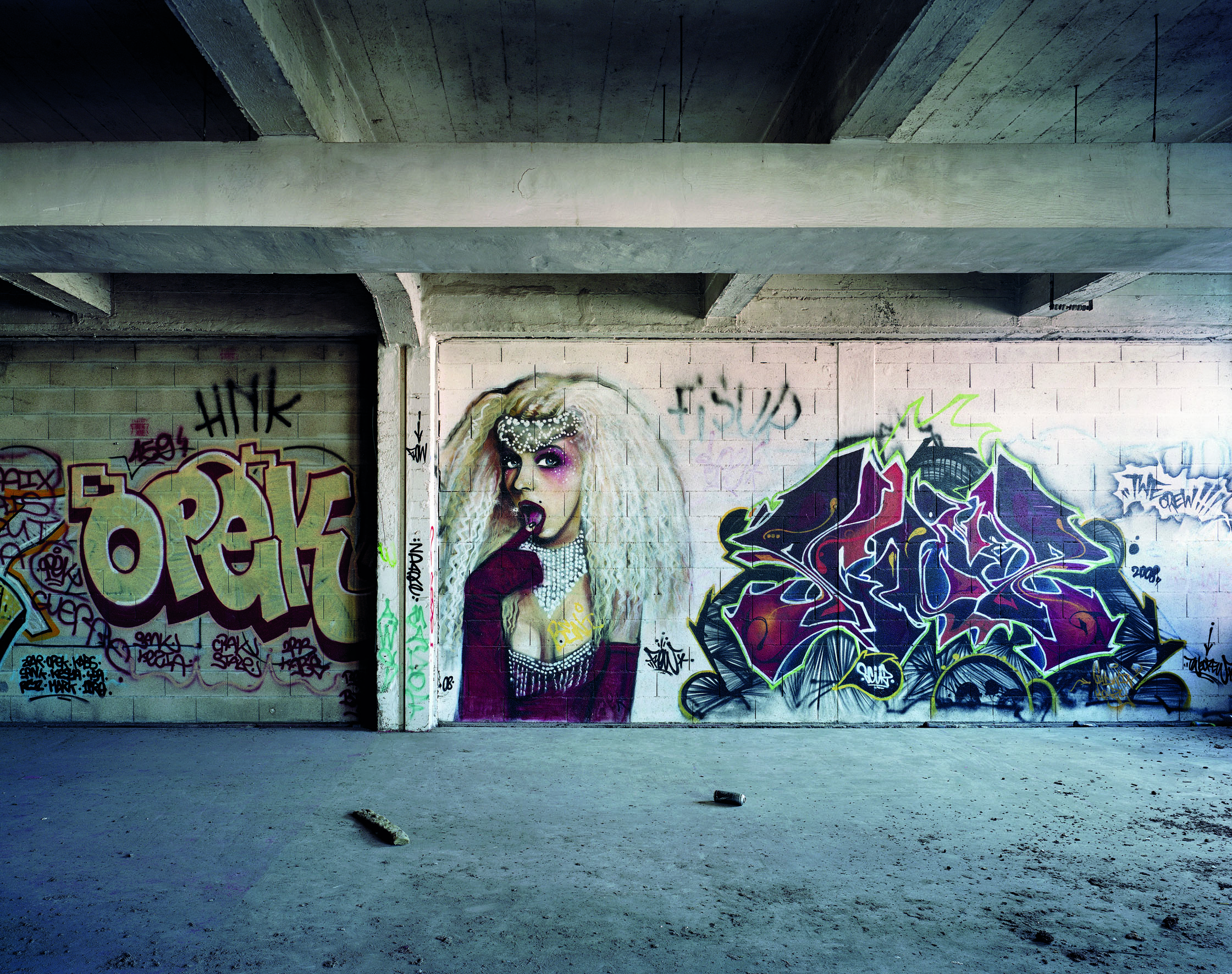 Graffiti JSP photo Yves Marchand et Romain Meffre