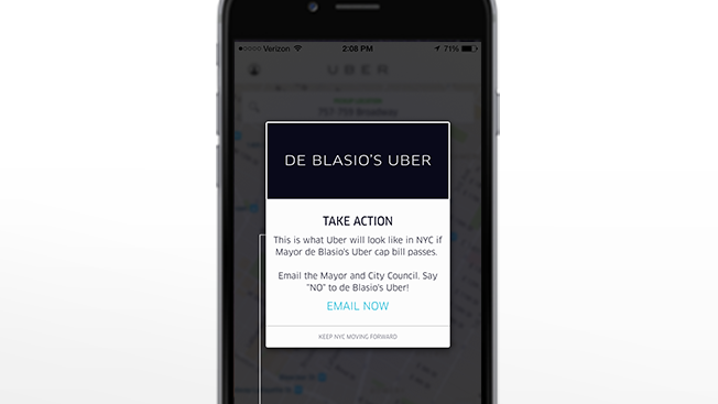 À New York, Uber contre-attaque