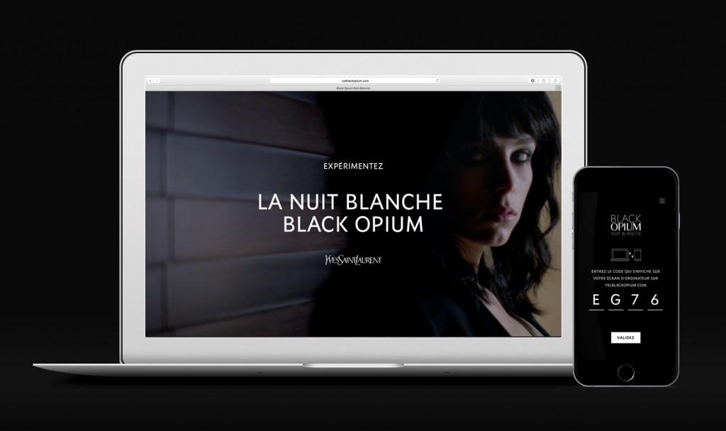 Yves Saint Laurent Beaute_769; - BETC Luxe - La Nuit Blanche