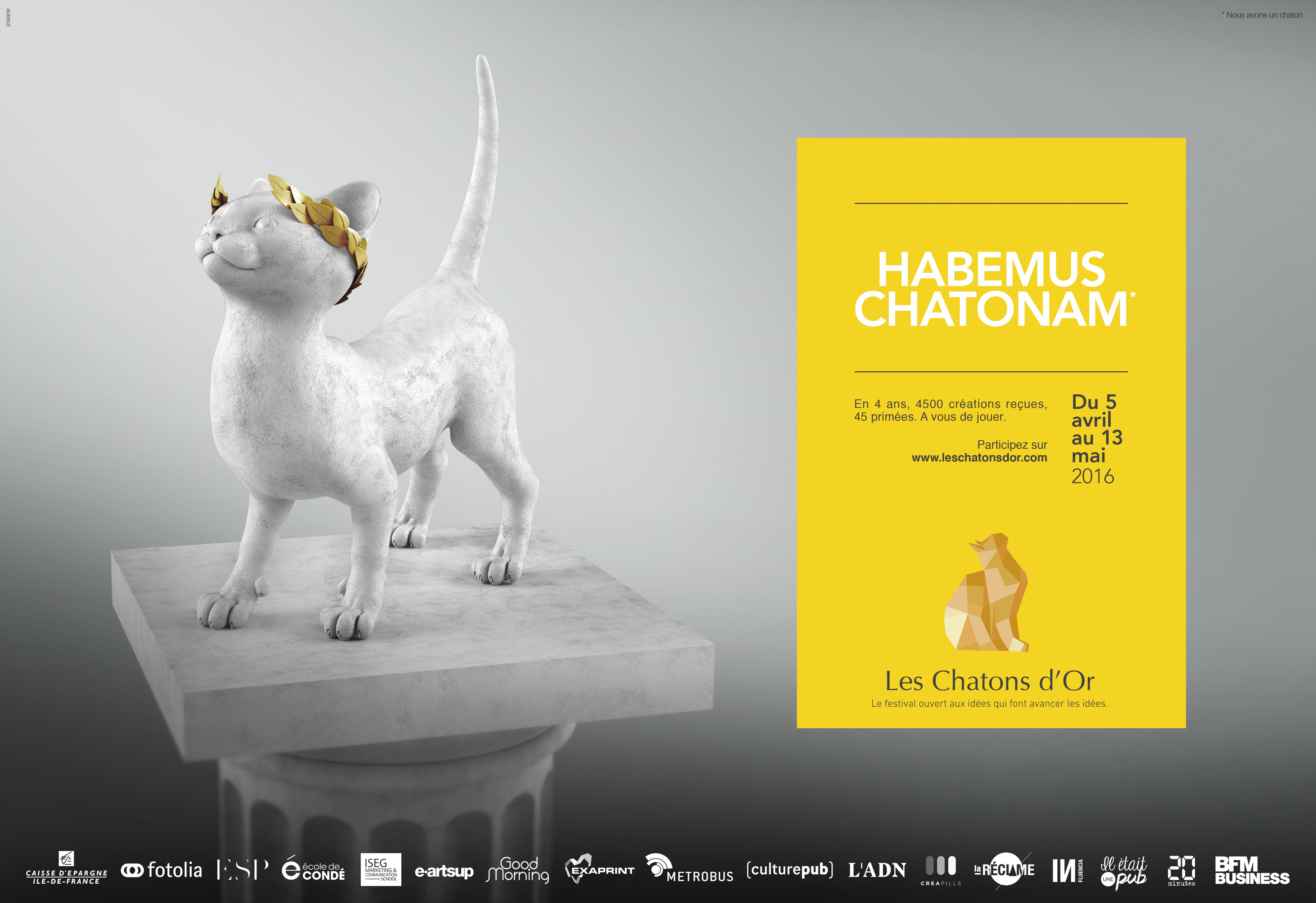 Les Chatons d'Or 2016