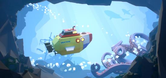 lego sous marin