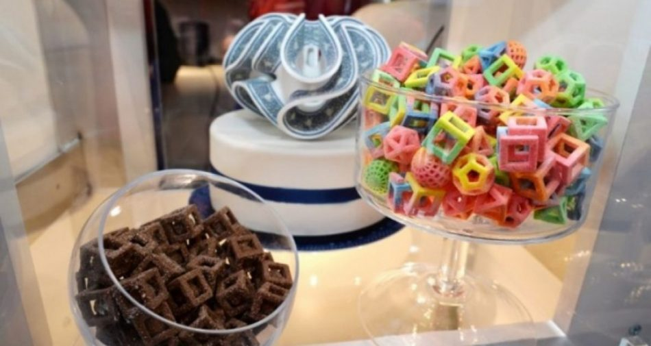 L'imprimante à bonbons 3D Lutti