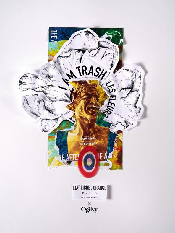 Un grand parfum de poubelles signé État Libre d'orange x Ogilvy Paris